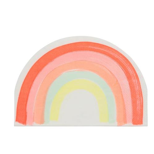Servilletas arcoíris meri meri
