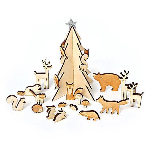 RESERVAR calendario adviento animales del bosque - Meri Meri