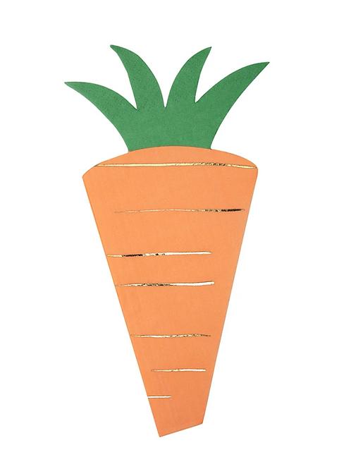 Servilletas zanahoria Meri Meri