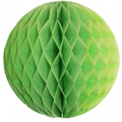 Panal decorativo verde manzana