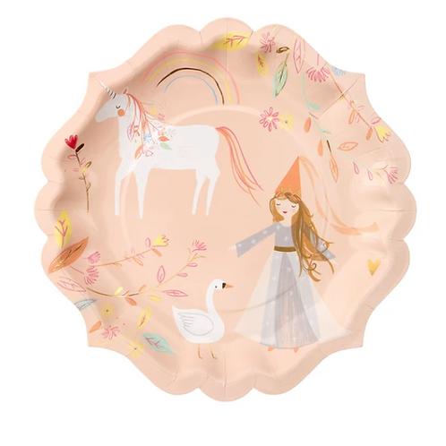 platos princesas encantadas meri meri
