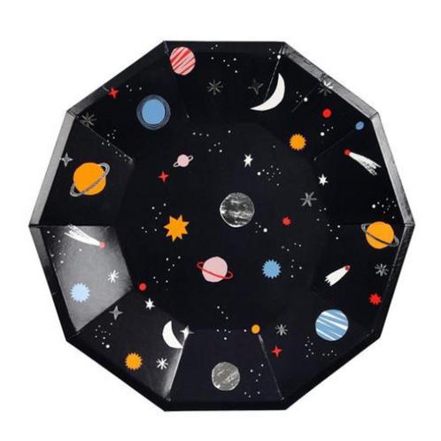 Plato decoración Galaxia