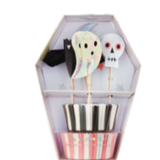 Set cup cakes halloween  - Meri Meri