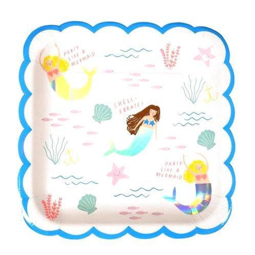 Plato Grande Sirena Meri Meri