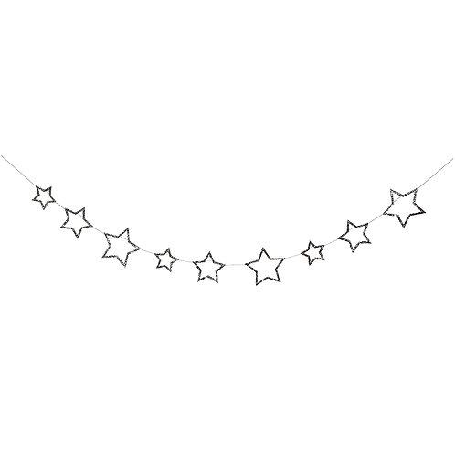 RESERVAR Guirnalda estrellas plateadas - Meri Meri