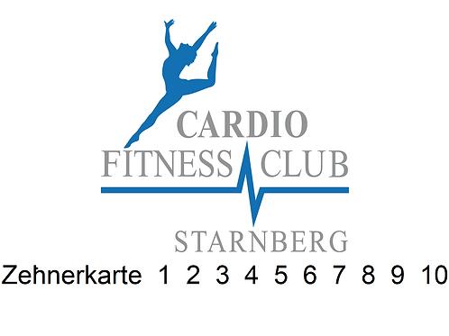 10er Karte Fitness und Kurse