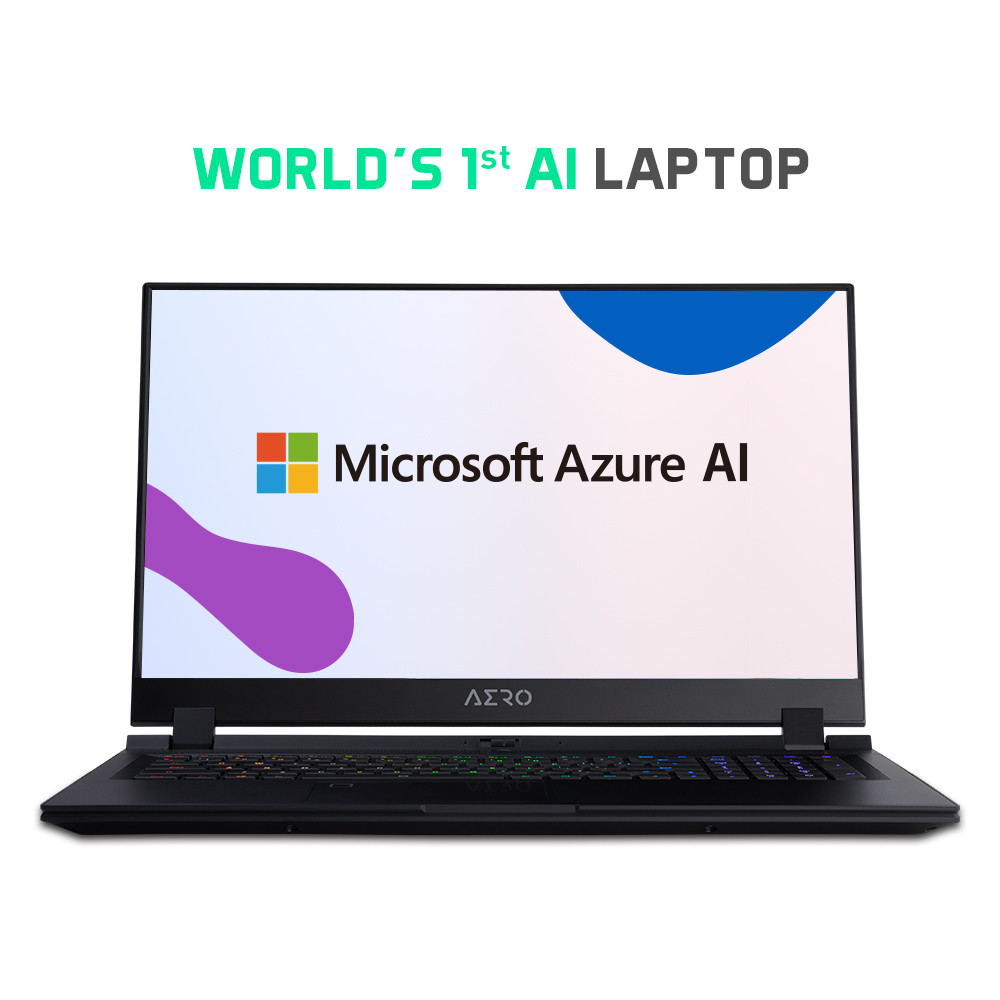 Microsoft Azure AI Laptops from GIGABYTE