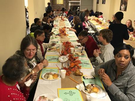 Annual Thanksgiving Community Dinner 2018