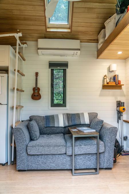 Lounge looking in from front door