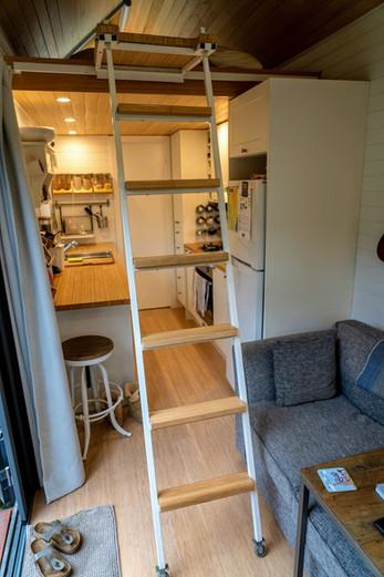 Ladder to Bedroom
