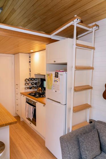 Kitchen view from door