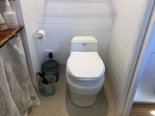 The Ins and Outs of a Composting Toilet
