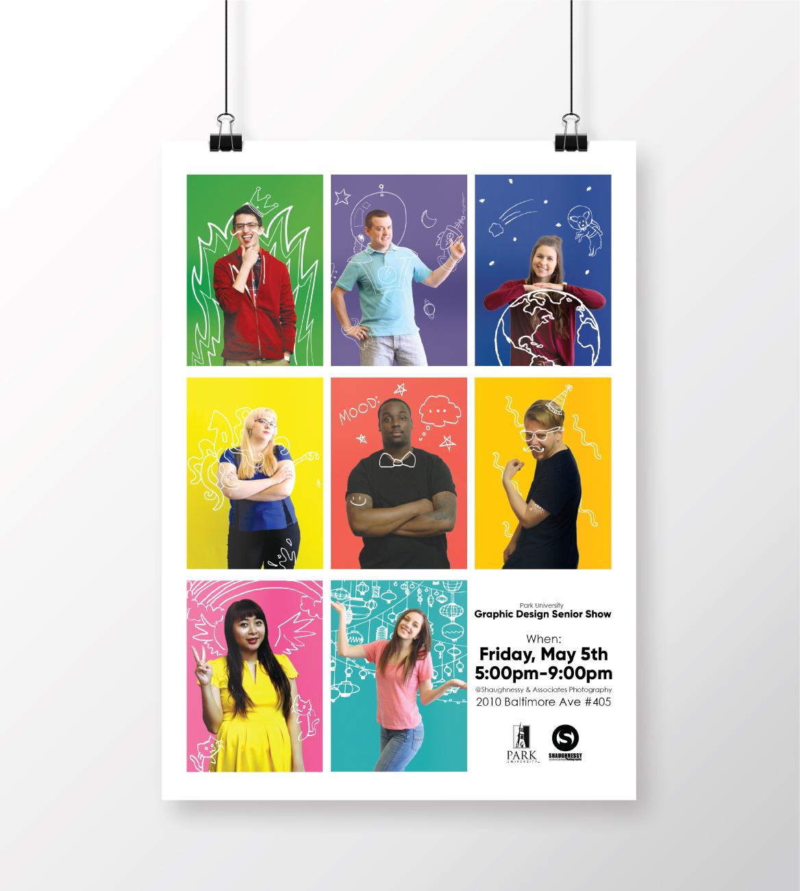 Senior Show Promotional Campaign