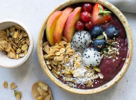 Food Fotografie Tip: Frozen açai smoothie bowls