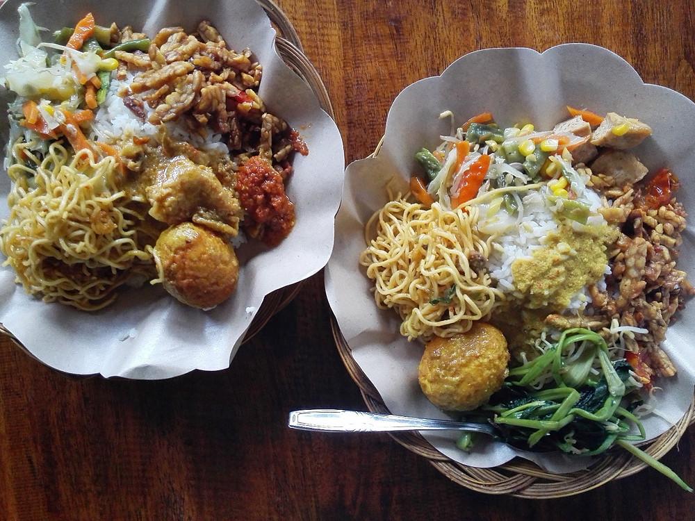 Nasi Campur, Gili Air, Indonesië