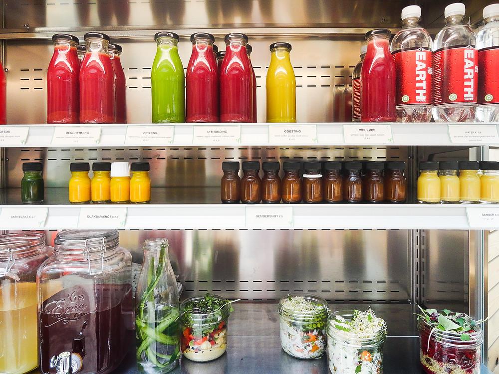 Juices & shots in de BEO Versbar