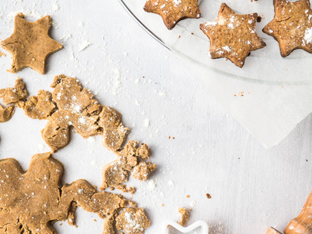 Gingerbread Cookie Stars