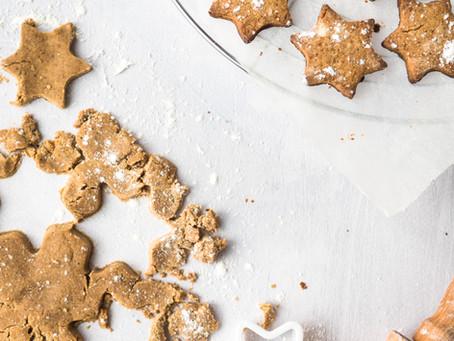 Gingerbread Cookie Stars