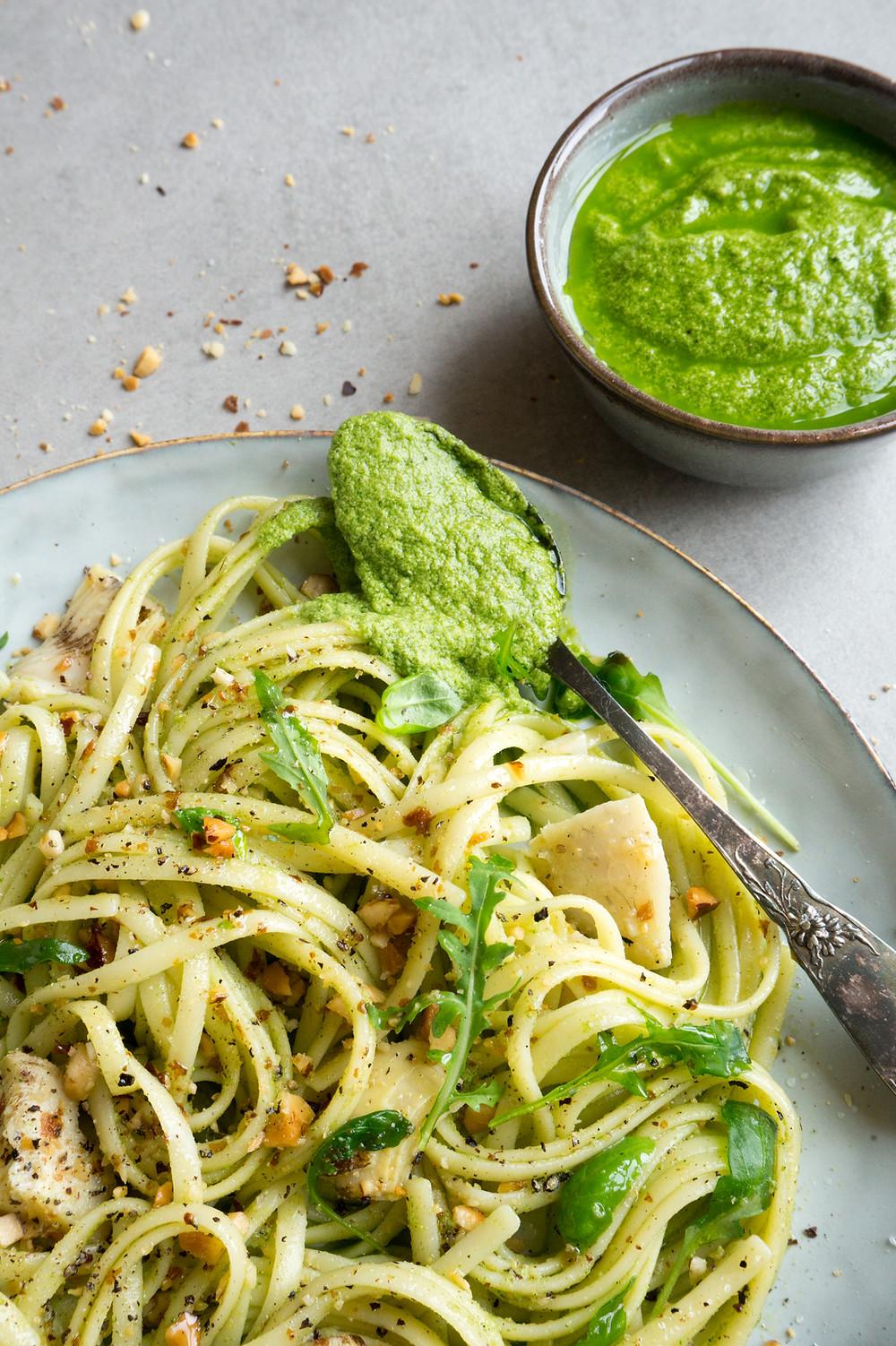 FoodLove's Vegan Pasta Pesto voor De Hobbit