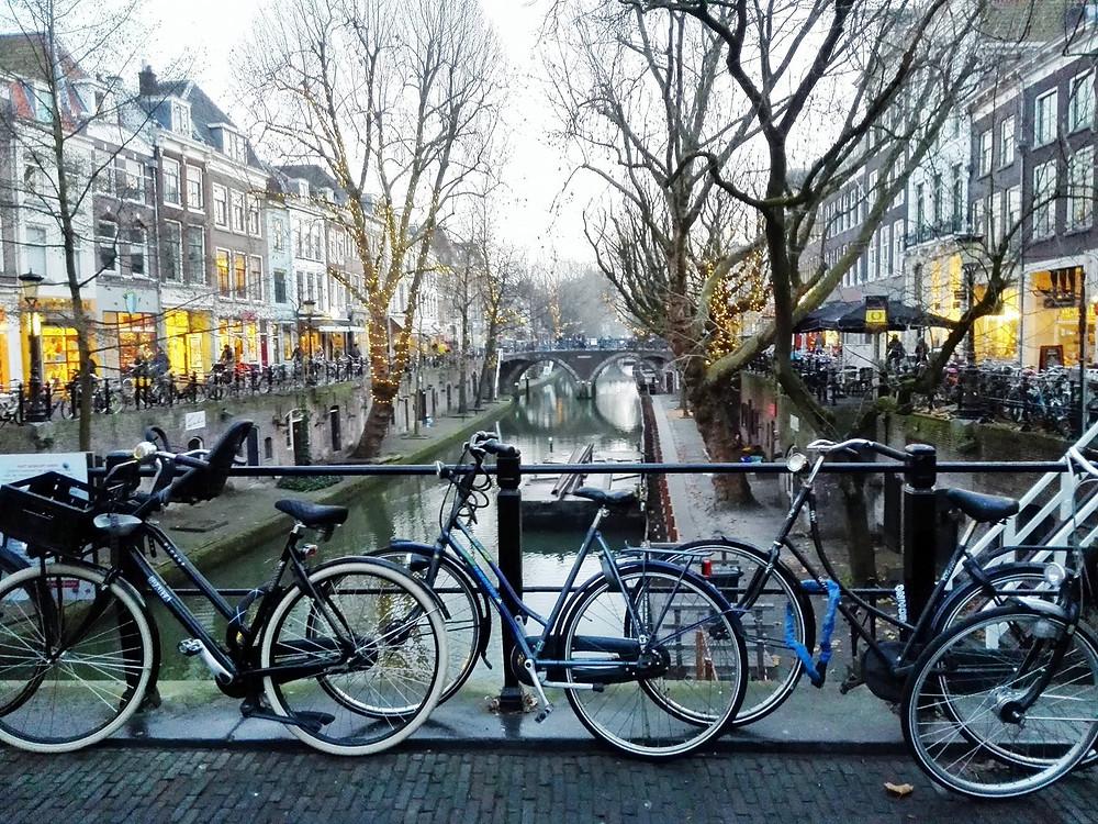 Utrecht - bikes and bridges