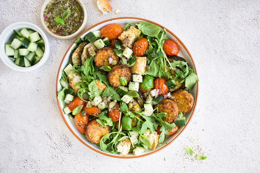 Italiaanse Panzannella Salade - FoodLove