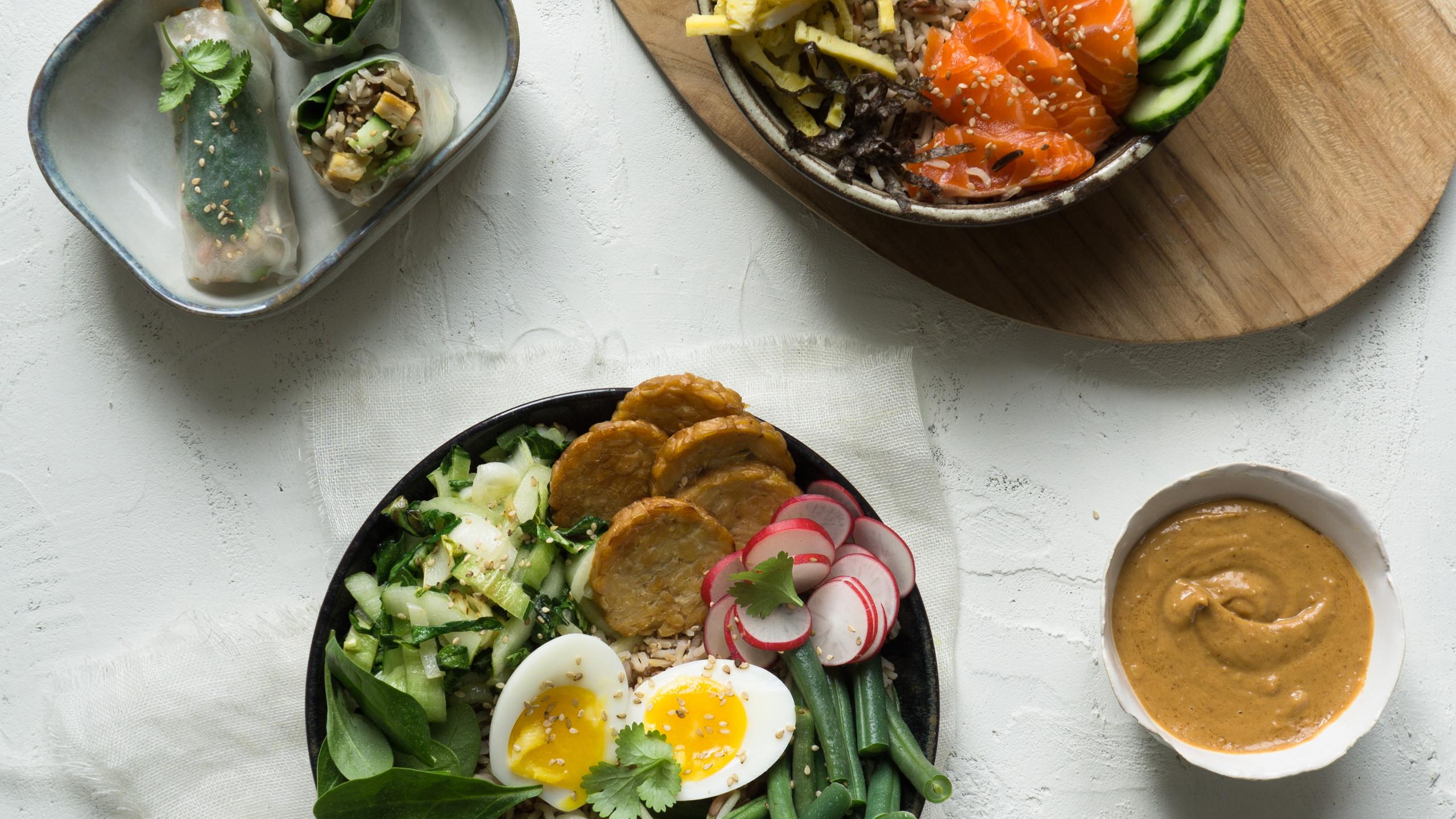 Mealprep Combo 1 - Asian Delight