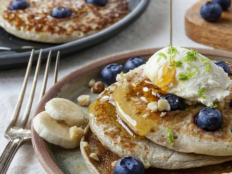 Who wants Blueberry Banana Pancakes?