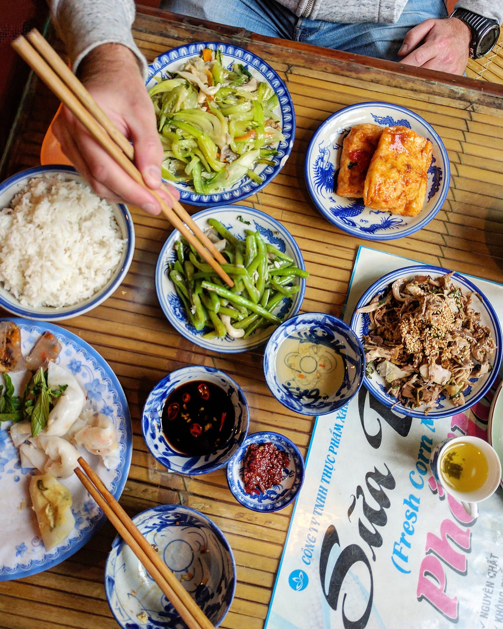 Vegetarisch Vietnamees Lokaal Restaurant
