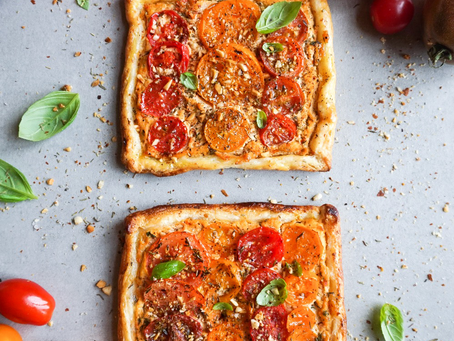 Easy & Vegan Tomatentaartjes