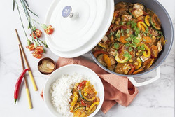 Thaise curry met tofu