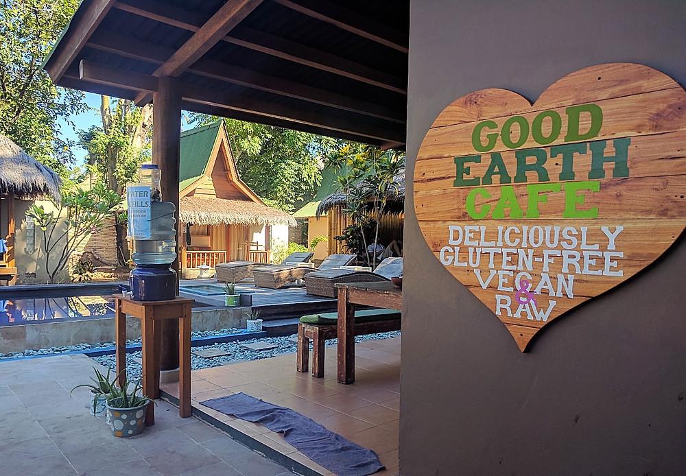 Good Earth café Gili Air