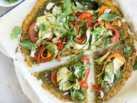 Zero waste cooking: Pizza met rijstbodem en restjespesto
