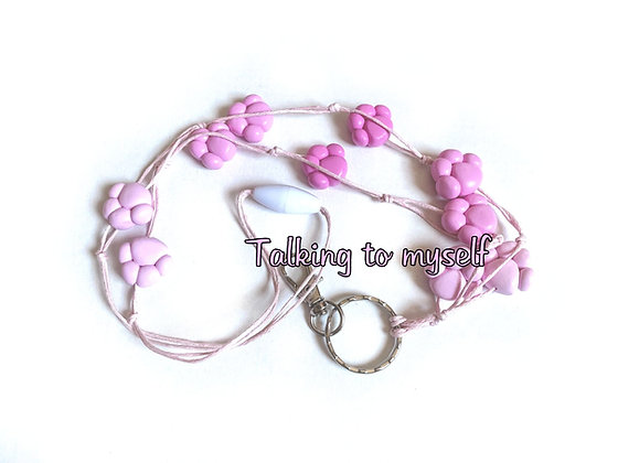 Tassu - avainnauha - pink