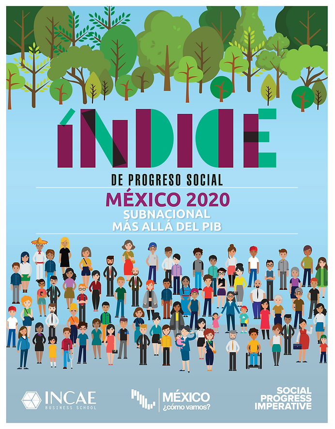 Portada Índice de Progreso Social 2020.