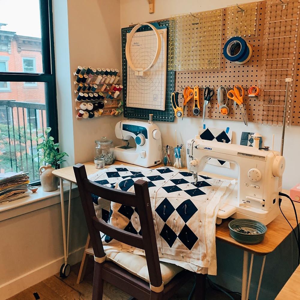 Small Scale Creatives Spotlight Emily Prescott Of The Linen Closet Textile Co