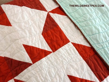 Latest Quilt Finish + An Embroidery Kit Giveaway