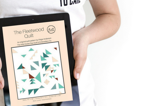 Fleetwood Quilt Pattern Digital Download out now!
