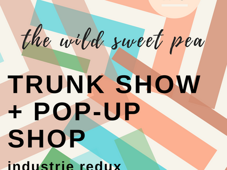 Upcoming Event: Trunk Show + Pop-Up Shop