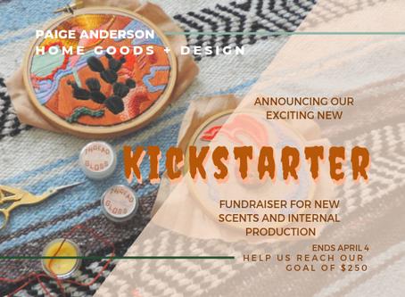 Kickstarter Update: A big thank you!