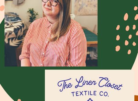 Small Scale Creatives Spotlight: Emily Prescott of The Linen Closet Textile Co.