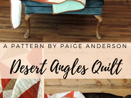 Desert Angles Quilt Pattern: AVAILABLE NOW in Make Modern Magazine Issue 23