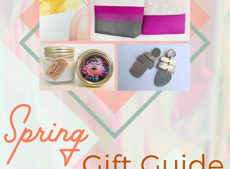 Spring Gift Guide Featuring PNW (and beyond) makers!