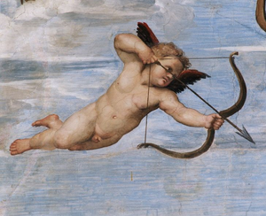 Cupido SanValentín 14Febrero