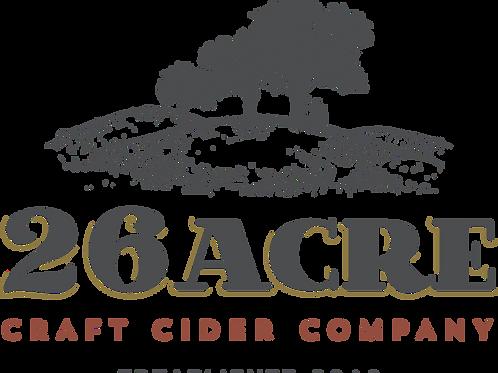 26 Acre Craft Cider Grape Expectations 6% - 500ml