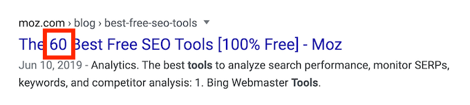 articolo di moz.com sui migliori 60 strumenti free SEO