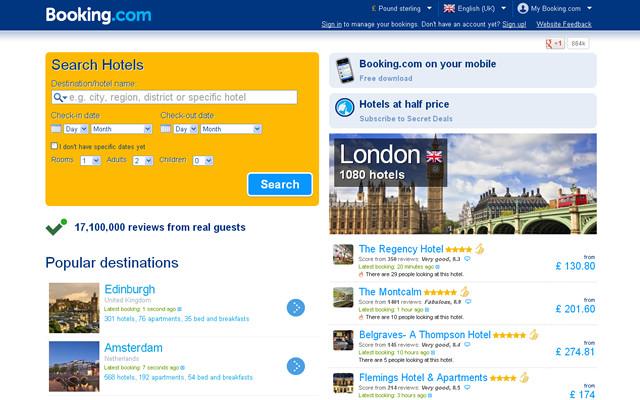 sito web booking.it