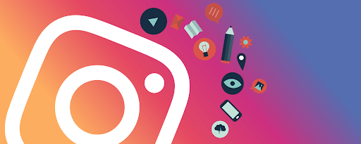 logo instagram in clip art