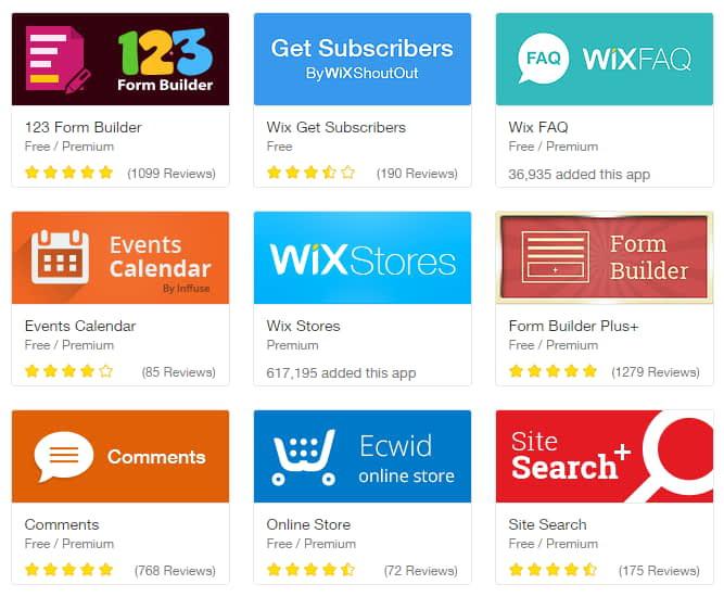wix store app