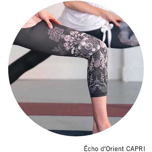 Legging 3/4 Rose Buddha - Echo d'orient