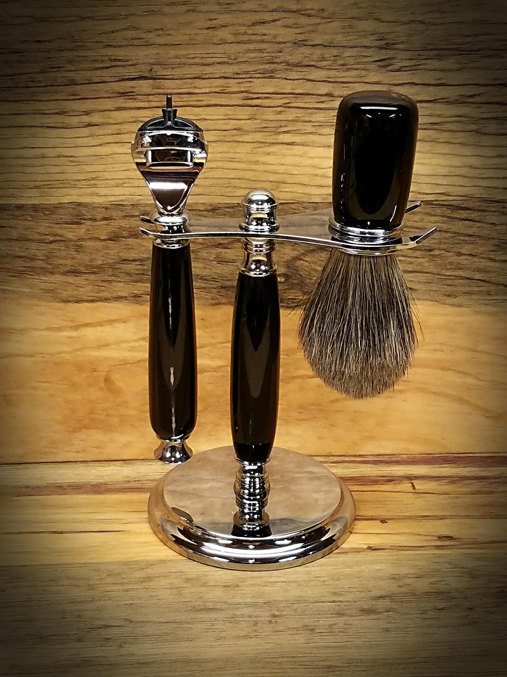 Buffal Horn 3 Piece Razor Kit